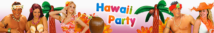 Hawaii-, Südsee-, Beachparty - Hawaii-, Südsee-, Beachparty