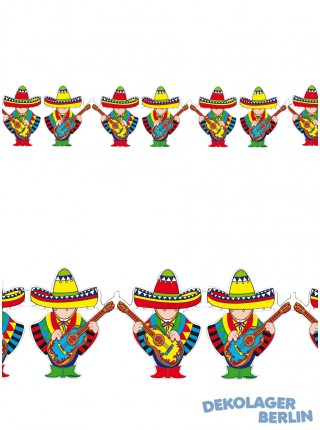 Mexico Party Girlande Mariachi 3 m