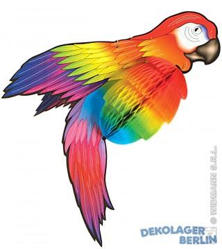 hawaii deko jumbo papagei hawai riesen papagai vogel. Black Bedroom Furniture Sets. Home Design Ideas