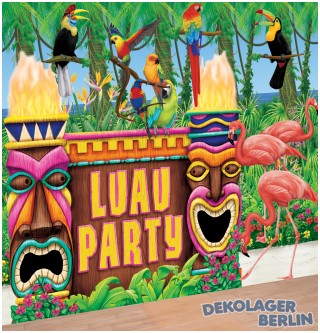 Hawaii Scene Setter Luau Party Set