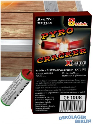Silvester Knaller China Chracker oder Pyro Cracker