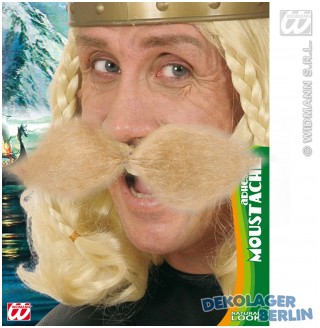 Wikingerbart oder Gallier Bart in blond