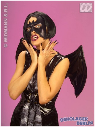 Fledermaus Maske für Bat girl/man