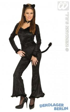 damen katzen oder katzenohren katzenkost m katzenschwanz katze kost m dress up set. Black Bedroom Furniture Sets. Home Design Ideas