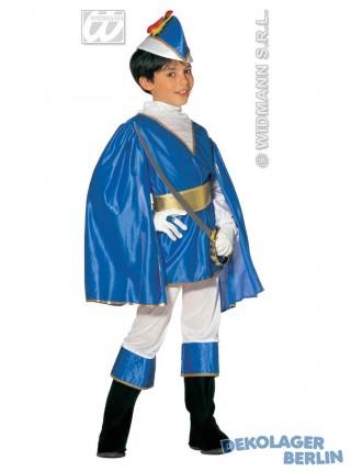 Kinderkostum Blauer Prinz Als Traumprinz Kostum Prinzenkostum