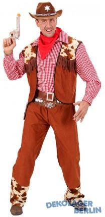 Herren Cowboy Kostüm für den Western Held