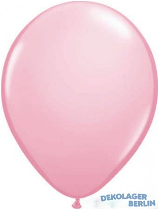 Luftballons Ballons in baby rosa pink