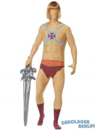 Second Skin Suit als He Man The Masters of the Universe Kostüm