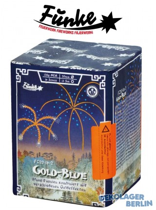 Funke Gold Blue