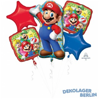 Ballon Bouquet Super Mario