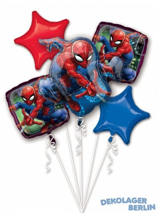 Ballon Bouquet Spider Man