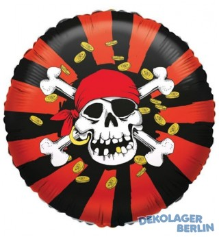 Folienballon Jolly Joker der Pirat