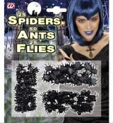 Halloween Spinnen, Fliegen und Ameisen Gruselset-Dekolager Berlin