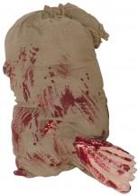 Halloween Krawatte mit Scream Gesicht-Dekolager Berlin