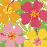 Hawaii Servietten Hibiskusblütenaufdruck-Dekolager Berlin