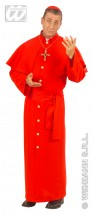Rotes Kardinal Kostüm M/L-Dekolager Berlin